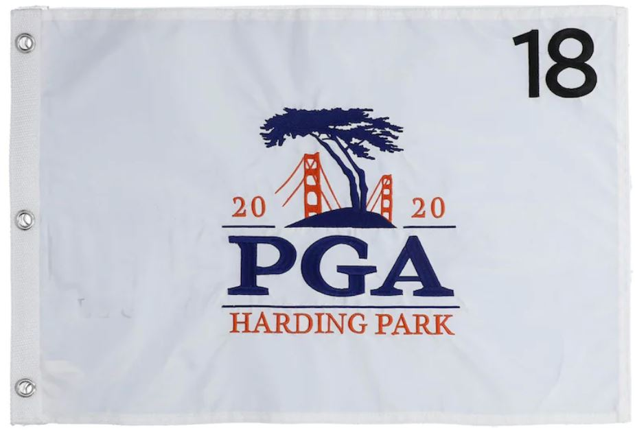 2020 PGA Championship Embroidered Pin Flag.JPG